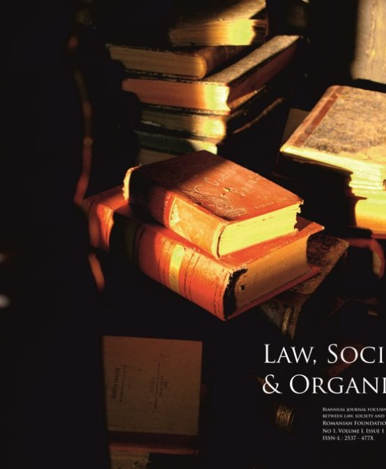 Law, Society & Organisations